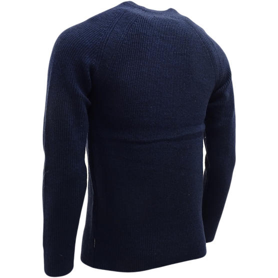 Ben Sherman Ribbed Lambswool Jumper - Slim Fit - ME13070 Thumbnail 3