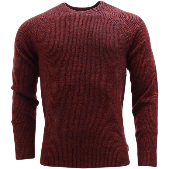 Ben Sherman Ribbed Lambswool Jumper - Slim Fit - ME13070 Thumbnail 4