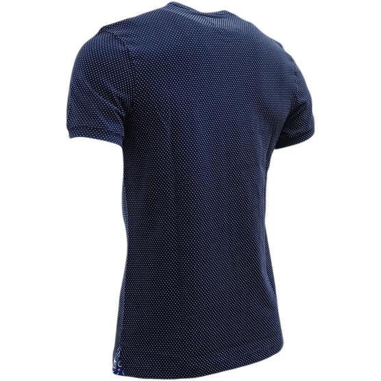 Bewley & Ritch Polka Dot T-Shirt Swain Navy Thumbnail 2