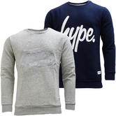 Hype Sweatshirt Jumper with Hype Stitched Logo
