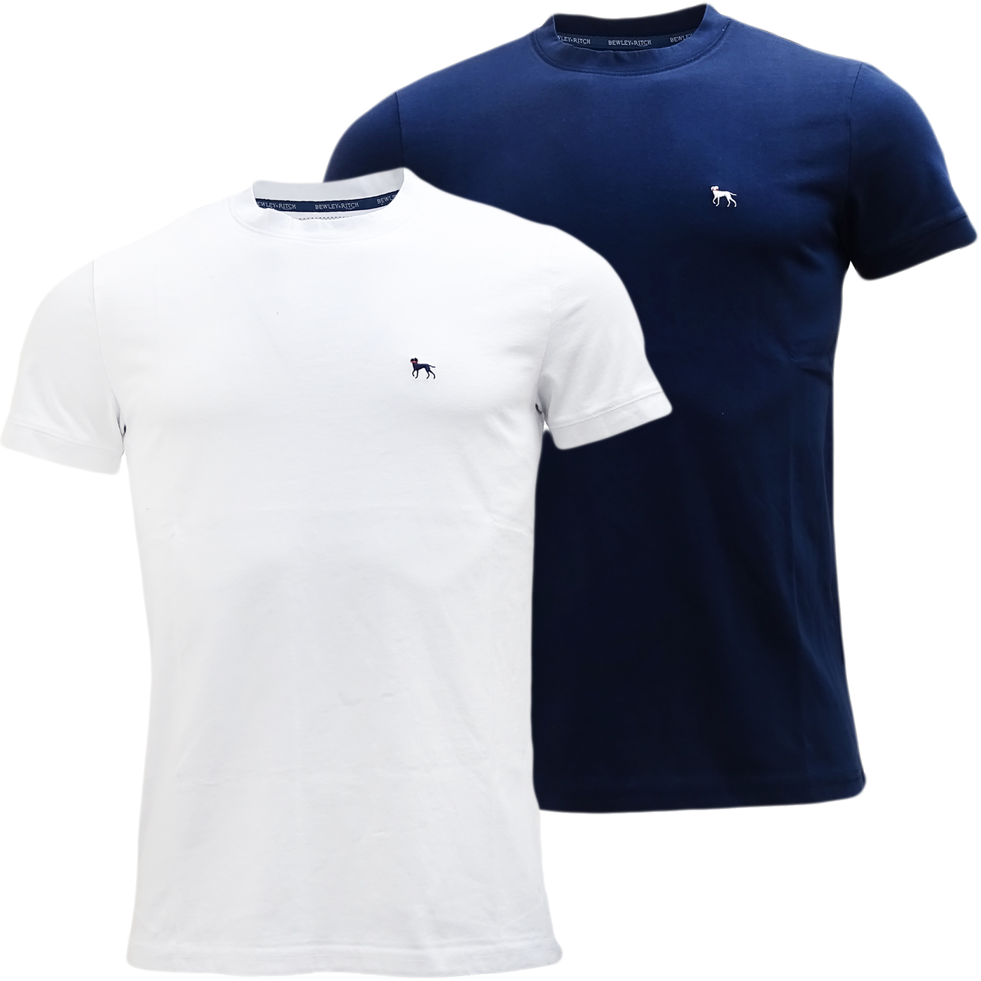 Bewley & Ritch Plain Slim Fit T Shirt - Roman