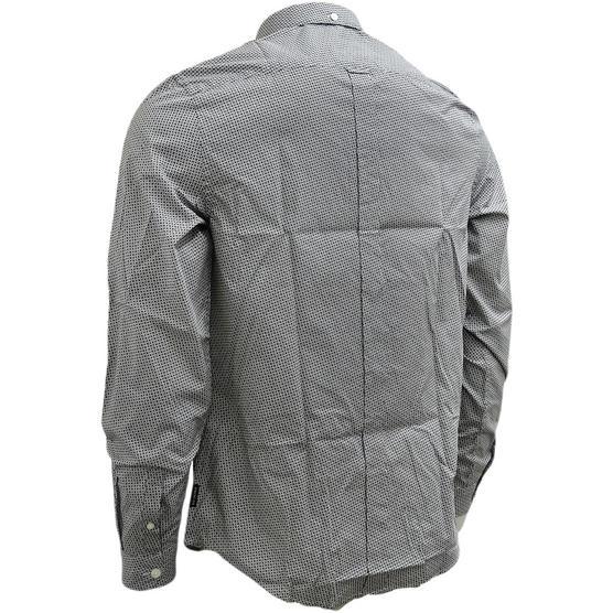 Ben Sherman Square & Spot Black Shirt MA13006 Thumbnail 3
