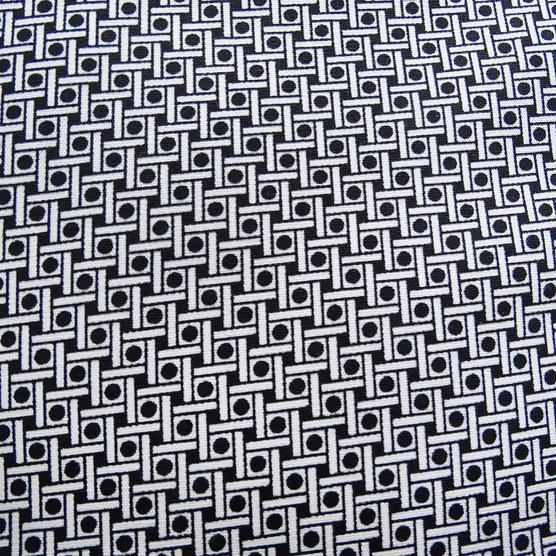 Ben Sherman Square & Spot Black Shirt MA13006 Thumbnail 4