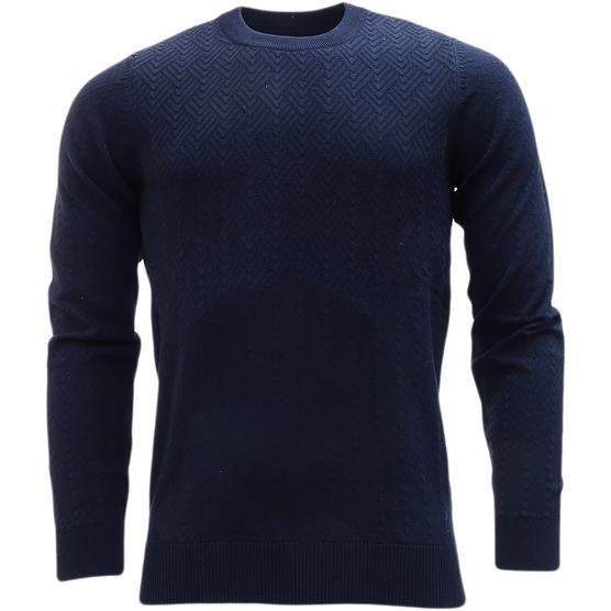 Ben Sherman Lightweight Embossed Jumper ME13075 Thumbnail 2
