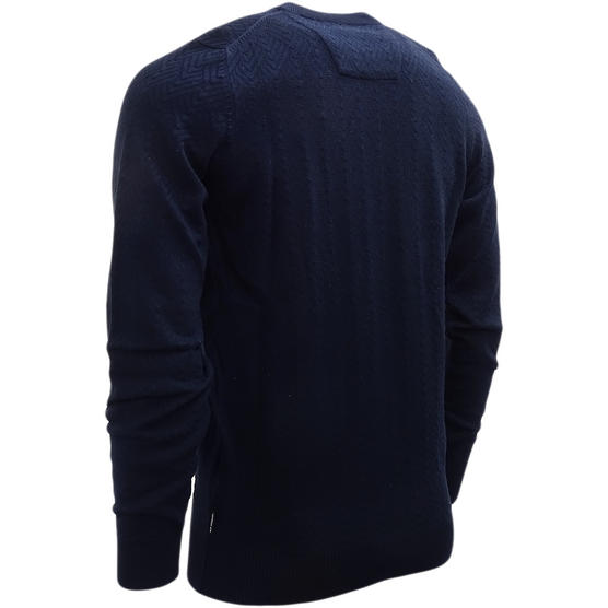 Ben Sherman Lightweight Embossed Jumper ME13075 Thumbnail 3