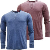 Mens T Shirts - Threadbare Button Front T-Shirt - Bexhill