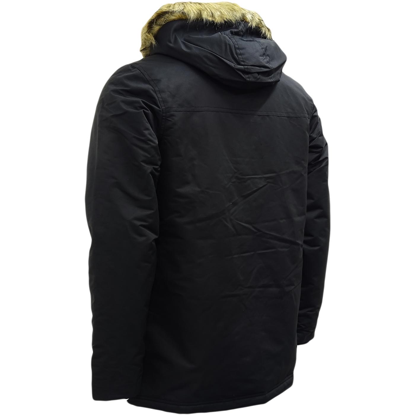 Hype Black Parka Jacket - Winter Outwear Coat   Daily