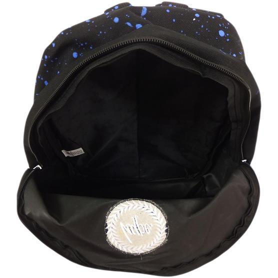 Hype Black and Blue Splatter Backpack Thumbnail 3