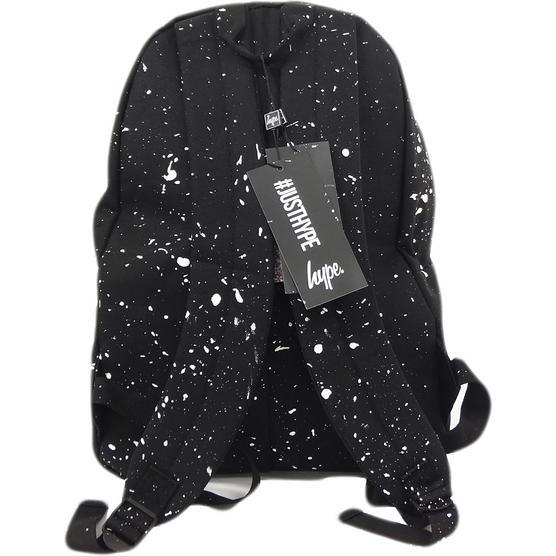 Hype Black and White Splatter Backpack Thumbnail 2