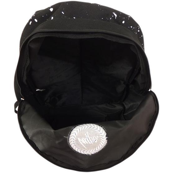 Hype Black and White Splatter Backpack Thumbnail 3