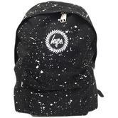 Hype Black and White Splatter Backpack