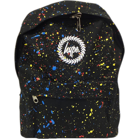 Hype Black and Multi Splatter Backpack - Primary Thumbnail 1