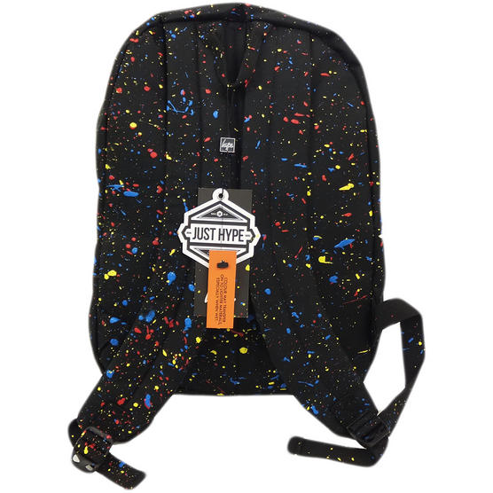 Hype Black and Multi Splatter Backpack - Primary Thumbnail 2