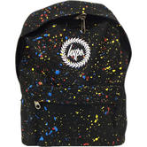 Hype Black and Multi Splatter Backpack - Primary