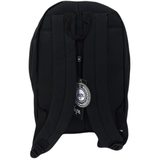 Hype Plain Black Backpack Bag Thumbnail 2
