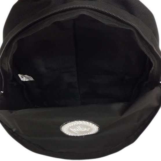 Hype Plain Black Backpack Bag Thumbnail 3