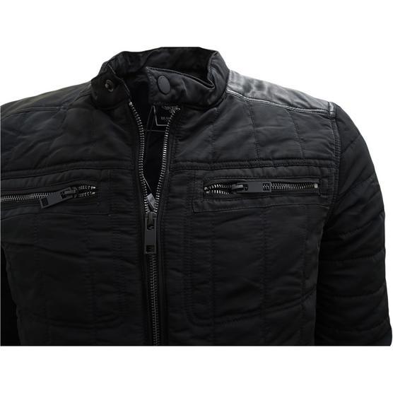 Brave Soul Black Jacket / Outerwear Coat Thumbnail 3