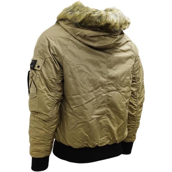 4Bidden Faux Fur Hooded Bomber Jacket / Outerwear Coat - Response Thumbnail 3