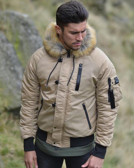 4Bidden Faux Fur Hooded Bomber Jacket / Outerwear Coat - Response Thumbnail 6