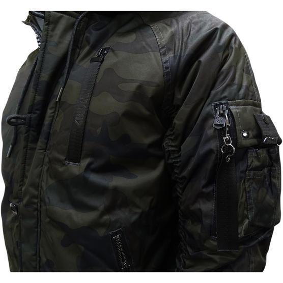 4Bidden Faux Fur Hooded Bomber Jacket / Outerwear Coat - Response Thumbnail 9