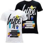Hype Paint Brush Squiggle Logo T-Shirt - Capital Artist