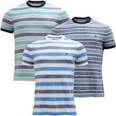 Original Penguin Block Stripe Pique T-Shirt - 7067