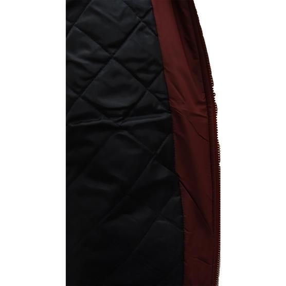 Hype Burgundy Ma1 Style Bomber Jacket / Outerwear Coat Thumbnail 3