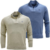 Henri Lloyd Half Zip Lightweight Jumper - Moray Half Zip