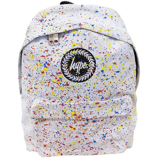 Hype White / Multi Backpack / School, Work, Gym Bags Bag Thumbnail 1