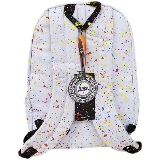 Hype White / Multi Backpack / School, Work, Gym Bags Bag Thumbnail 2