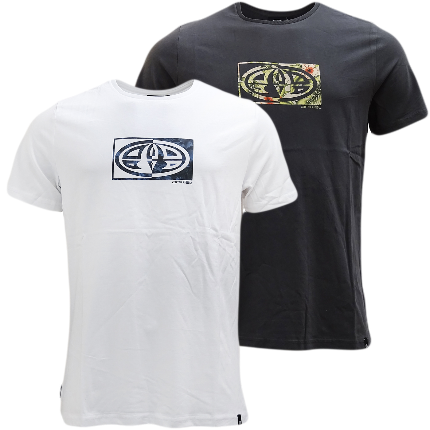 Animal Logo Front And Back T-Shirt - L029-L63