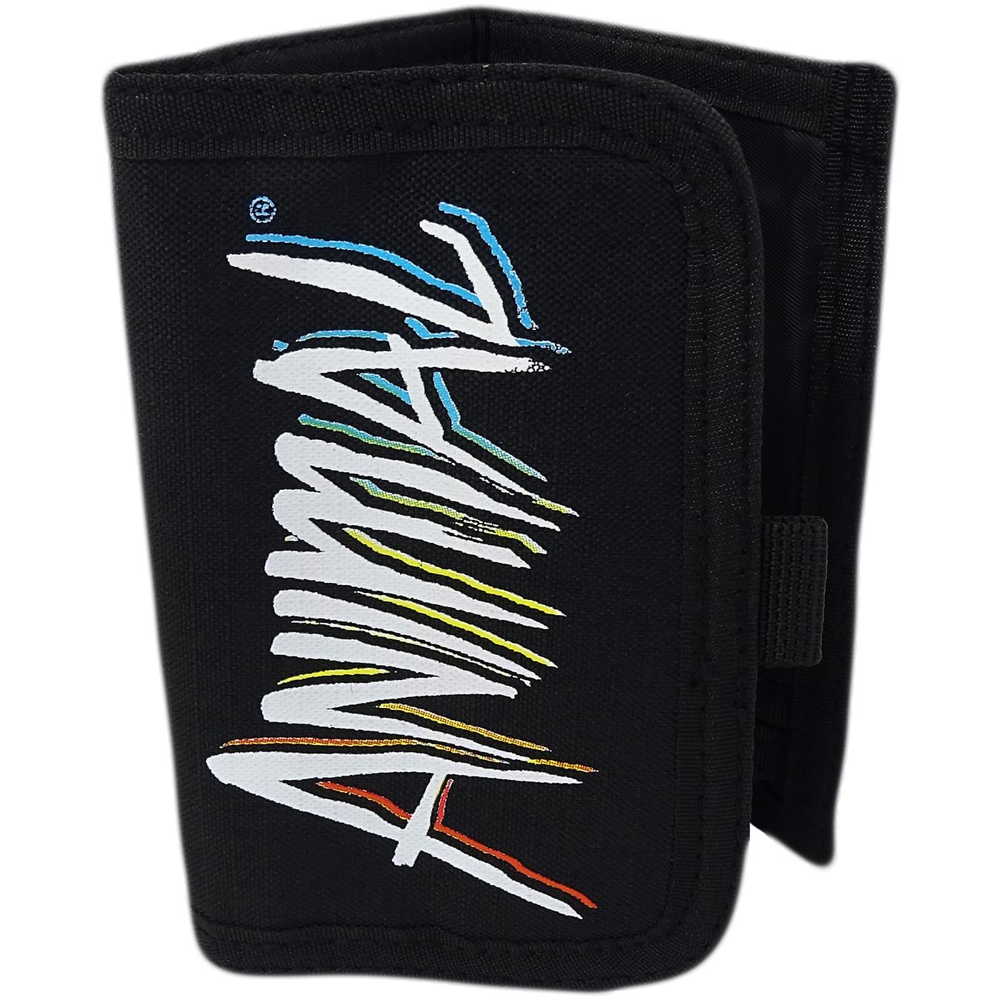 Animal Black Tri Fold Wallet / Card, Note Holder Black