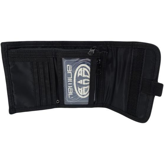 Animal Black Tri Fold Wallet / Card, Note Holder Black Thumbnail 2