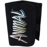 Animal Black Tri Fold Wallet / Card, Note Holder Black