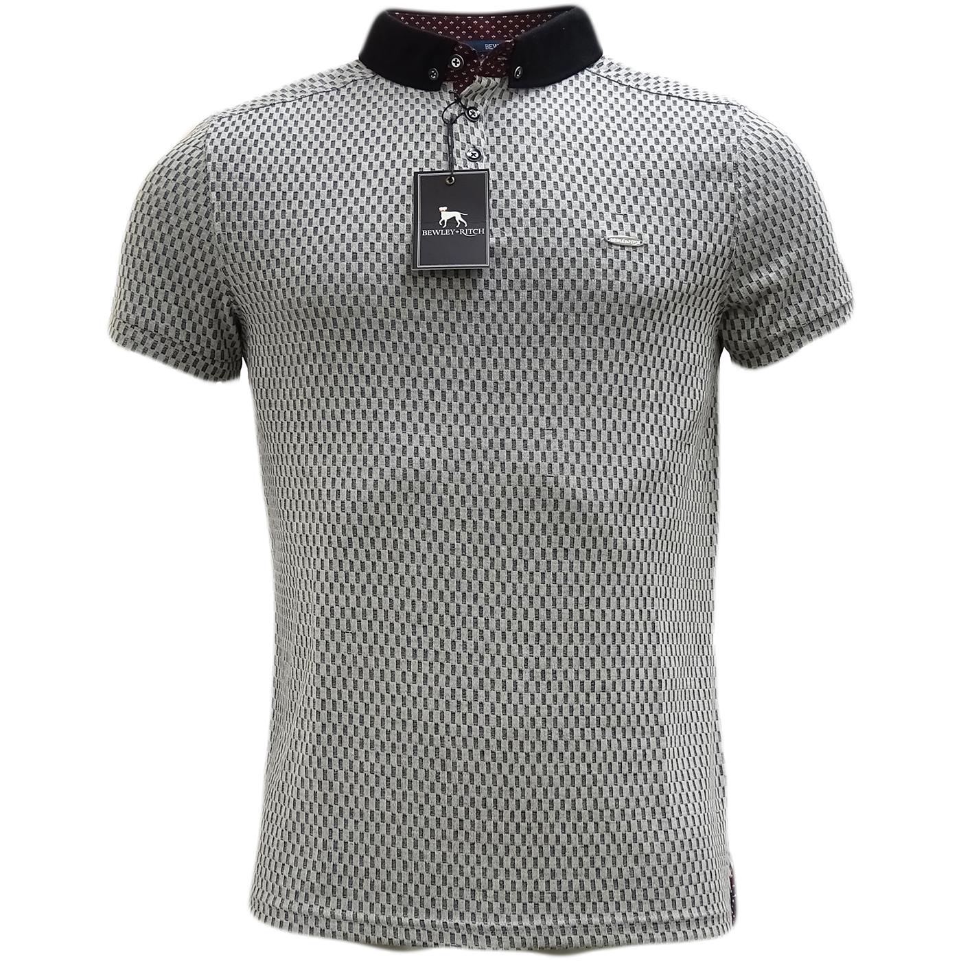 Bewley & Ritch Grey Lightweight Polo Shirt