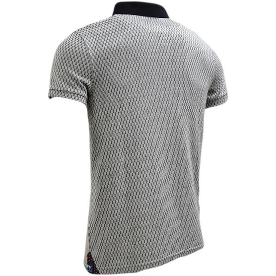 Bewley & Ritch Grey Lightweight Polo Shirt Thumbnail 2