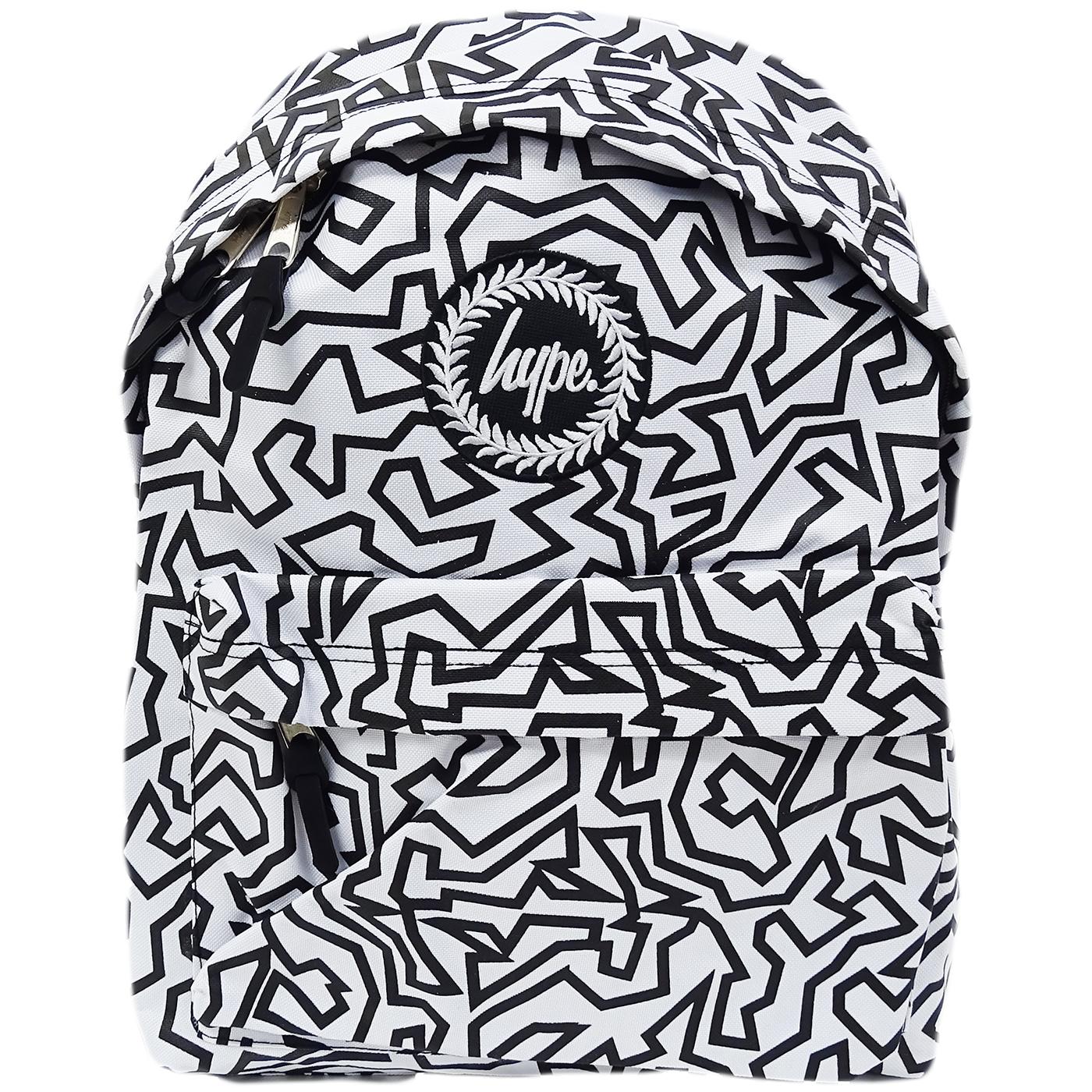 Hype White Bag / Backpack