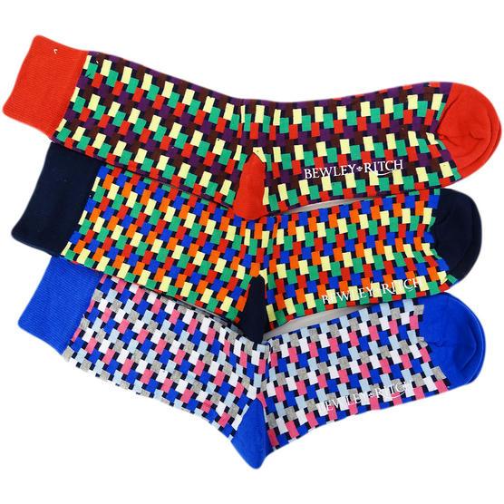 Bewley & Ritch One Size Socks - Sock Multi Thumbnail 3