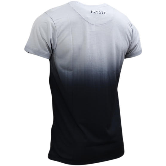 Devote Grey / Black Fade T-Shirt Thumbnail 2