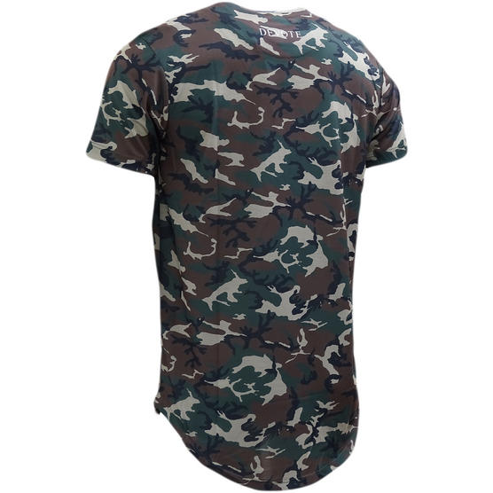 Devote Camo Dished Camoflage Lightweight T-Shirt Thumbnail 2