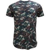 Devote Camo Dished Camoflage Lightweight T-Shirt
