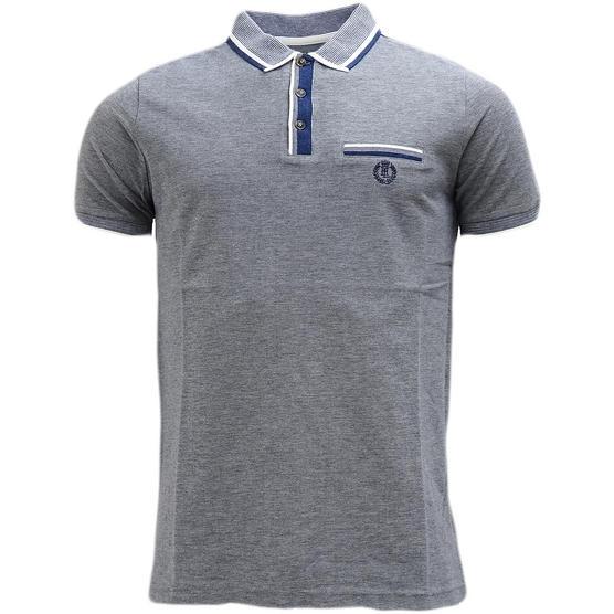Henri Lloyd Contrast Collar / Cuffs - Pique Polo Shirt - Highland Thumbnail 6
