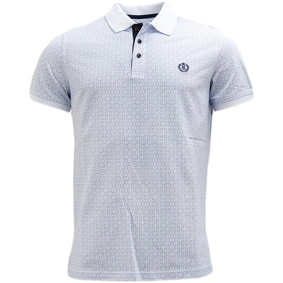 Henri Lloyd Cross Pattern Pique Polo Shirt - Flixton Thumbnail 2