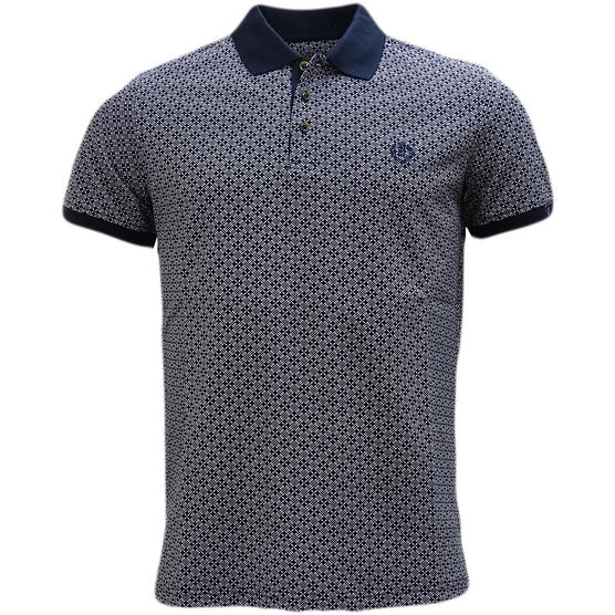 Henri Lloyd Cross Pattern Pique Polo Shirt - Flixton Thumbnail 5