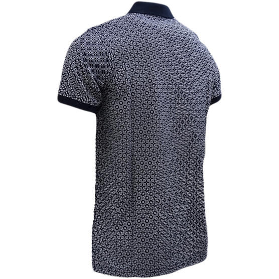 Henri Lloyd Cross Pattern Pique Polo Shirt - Flixton Thumbnail 6