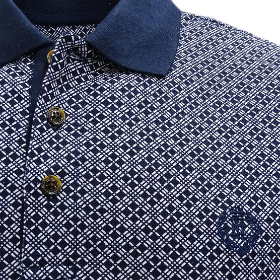 Henri Lloyd Cross Pattern Pique Polo Shirt - Flixton Thumbnail 7
