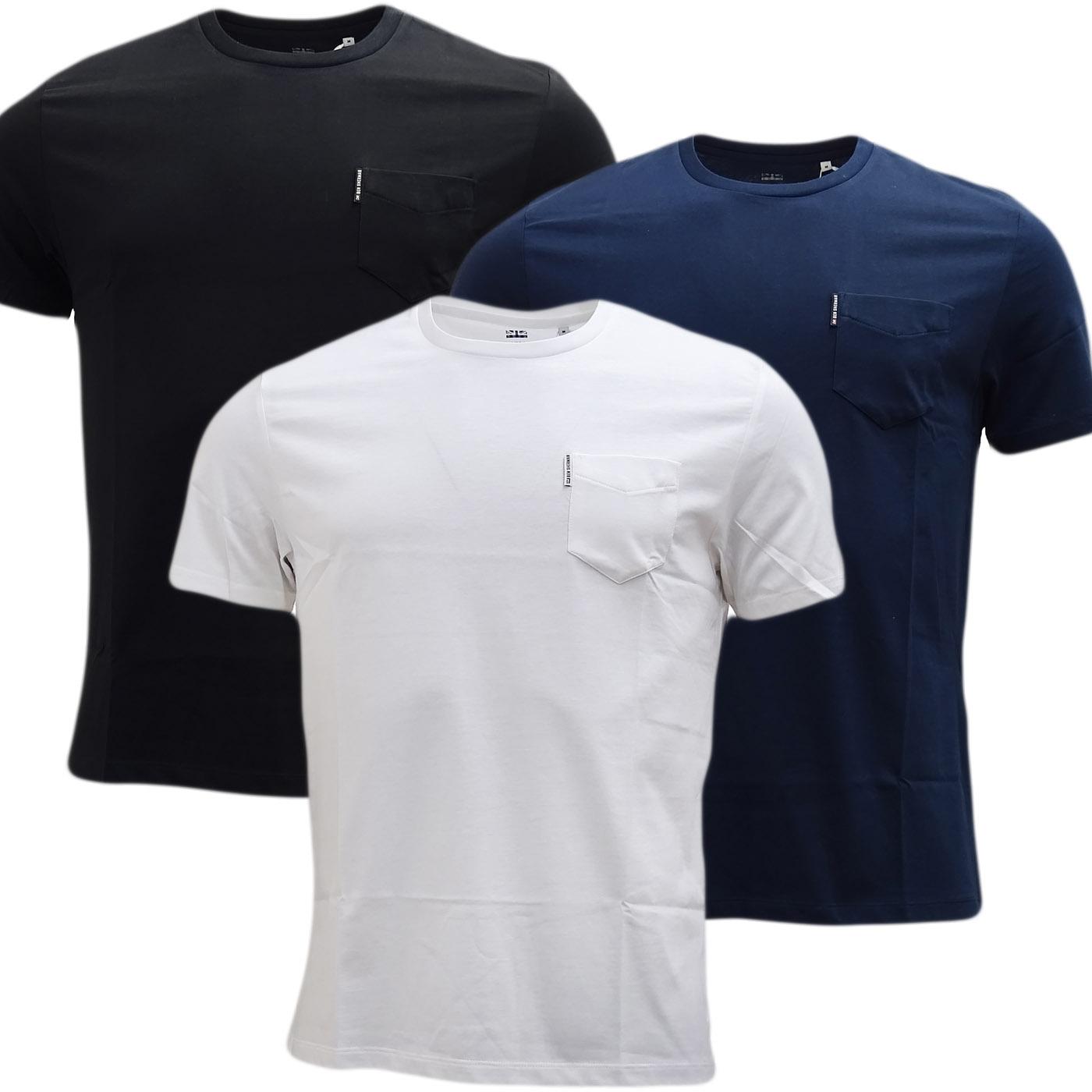 Ben Sherman Plain Pocket T-Shirt - Mb13645