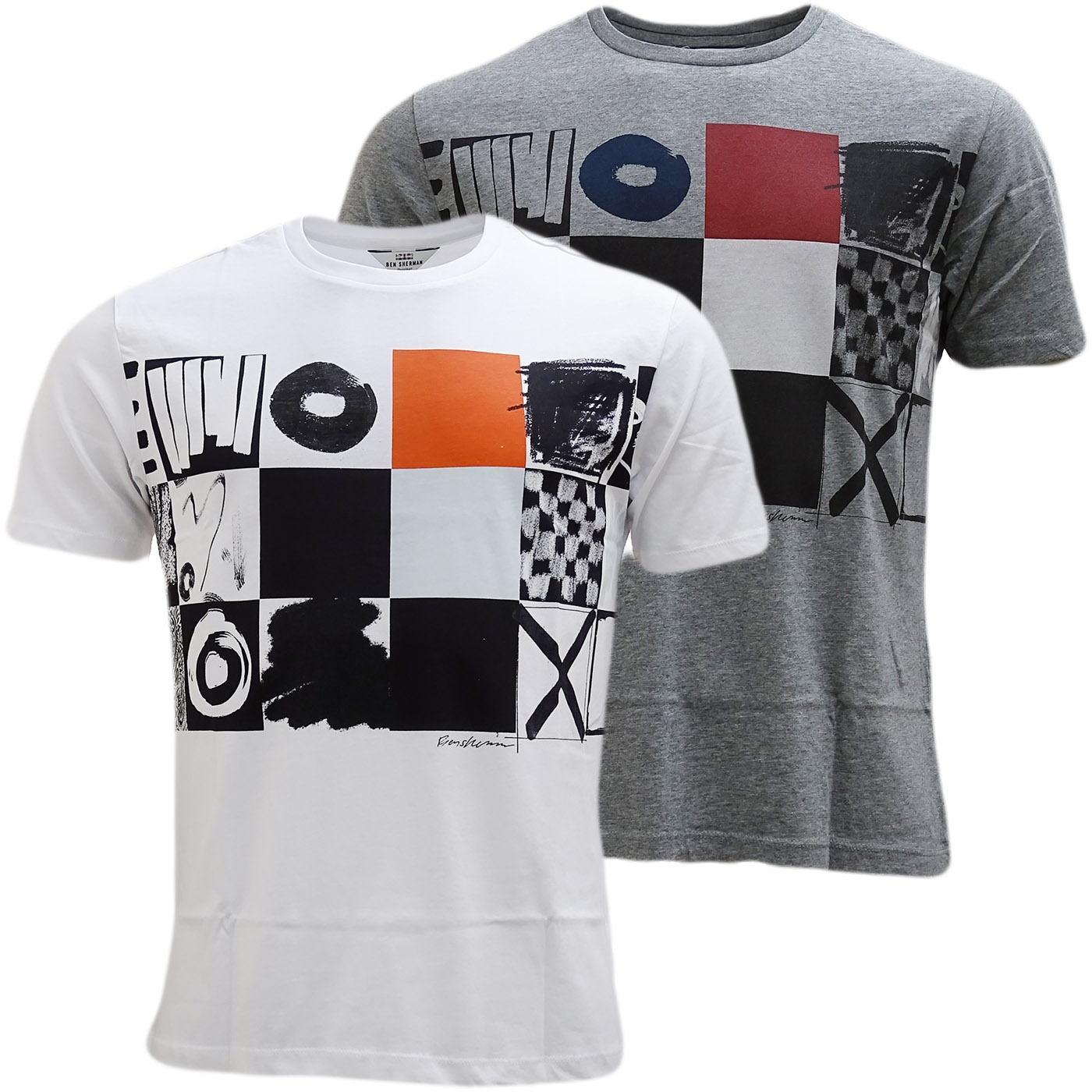 Ben Sherman Boxes T-Shirt - Mb13444