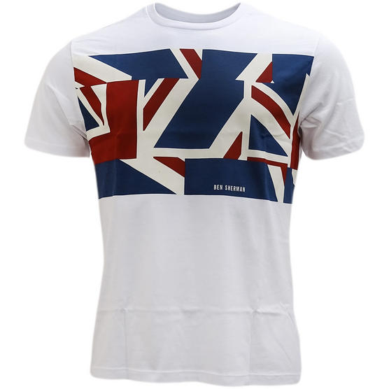 Ben Sherman Union Jack T-Shirt - Mb13460 Thumbnail 2