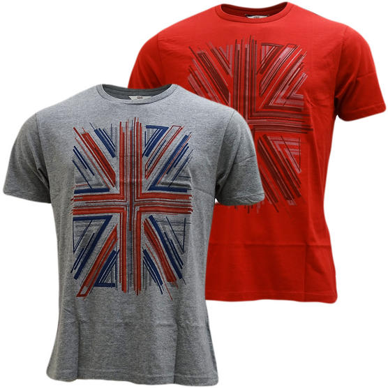 Ben Sherman Union Jack T-Shirt - Mb13441 Thumbnail 1